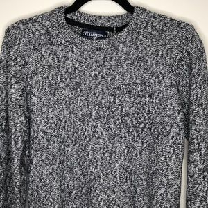RUMORS men's 100% cotton long sleeve sweater M